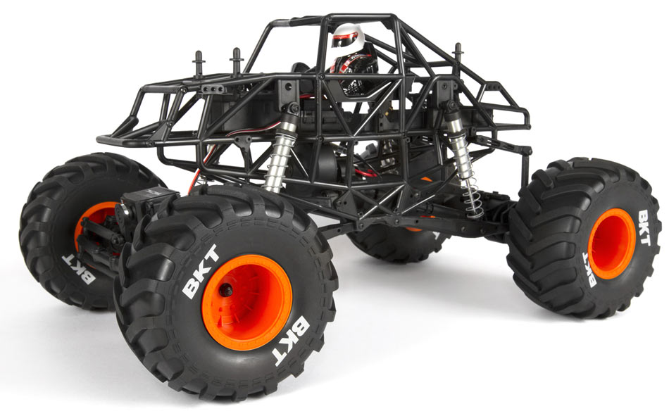 Axial MAX-D Jam Truck - Chassis