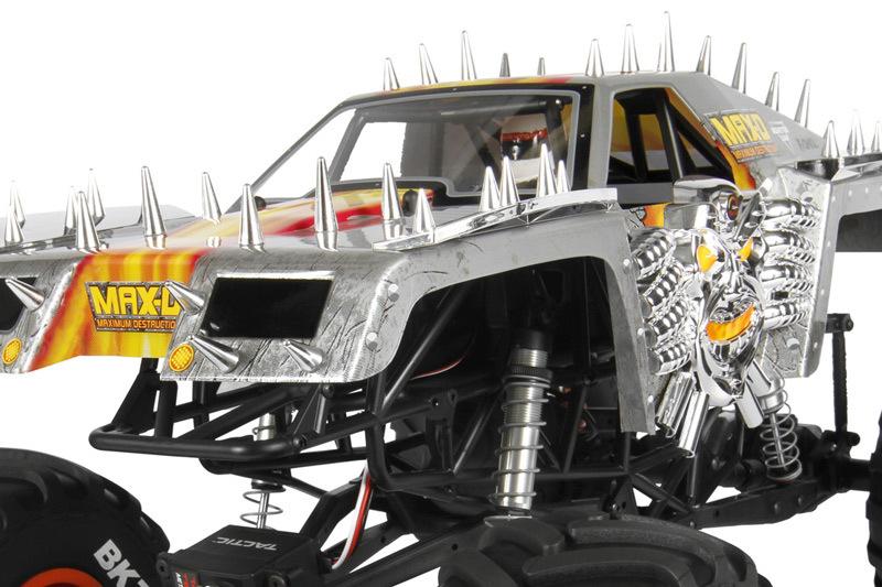 Axial MAX-D Jam Truck - Max-D Polycarbonat Karosserie