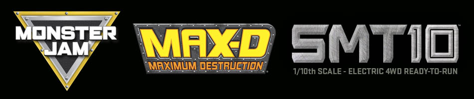 Axial MAX-D Jam Truck - Logo