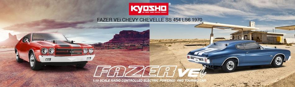 Kyosho VEi Chevy Chevelle SS 454 LS6 1970