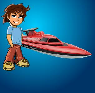 Kids-Shop - Ferngesteuerte Boote