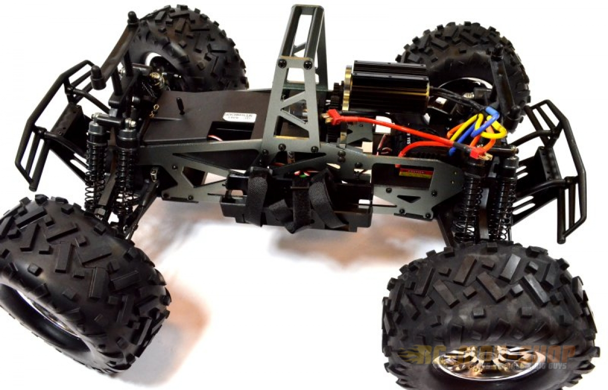nanda racing monstertruck raptor e brushless 1 8. Black Bedroom Furniture Sets. Home Design Ideas