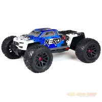 ARRMA Nero 6s BLX Monstertruck Diff Brain 1:8, 4WD, RTR blau