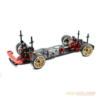 Absima DRR-01 metallic red Driftcar 2WD, Roller 1:10
