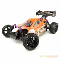 Amewi Booster Buggy Brushed 4WD 1:10, RTR, orange mit...