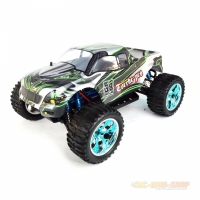 Amewi Torche Pro Monstertruck Brushless 4WD 1:10, RTR, grün/schwarz