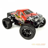 Amewi Torche Monstertruck Brushed 4WD 1:10, RTR, rot/schwarz