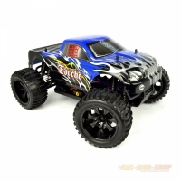Amewi Torche Monstertruck Brushed 4WD 1:10, RTR blau/schwarz