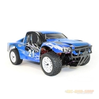 Amewi Short Course Truck, Brushed 1:10, RTR, blau