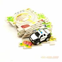 Amewi-Toys Puzzle Pilot Police