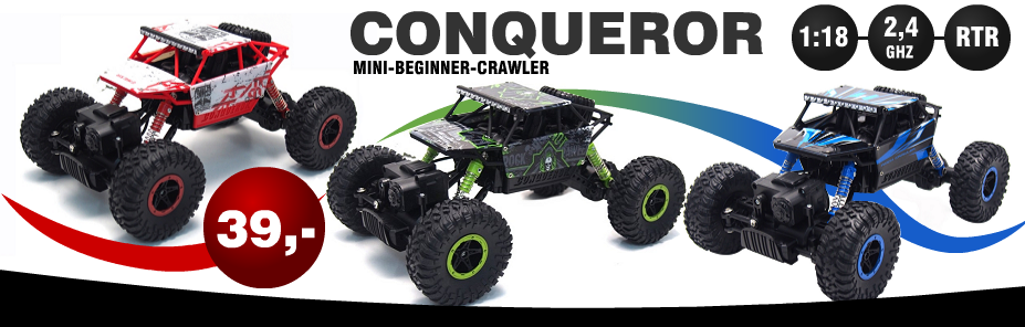 Amewi Conqueror Mini Crawler 1:18