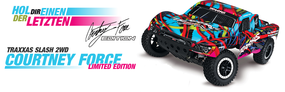 Traxxas Slash - Courtney Force Limited Edition