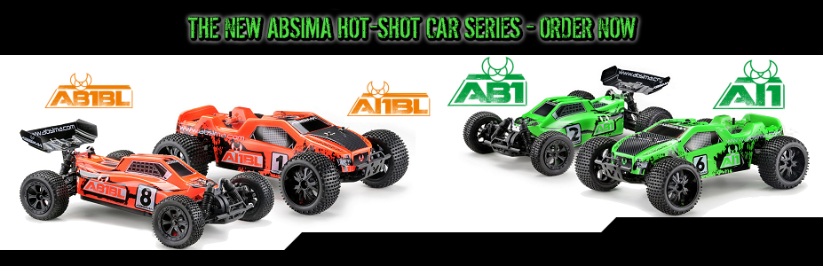 Absima Car-Series Hot-Shot AB1, AB1BL, AT1, AT1BL