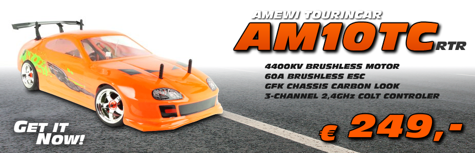 Amewi AM10TC Touringcar 1/10 Scale